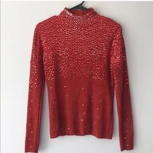 Sweaters - Sequined sweater